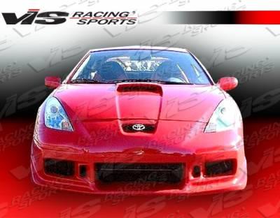 Celica - Front Bumper - VIS Racing - Toyota Celica VIS Racing Tracer-2 Front Bumper - 00TYCEL2DTRA2-001
