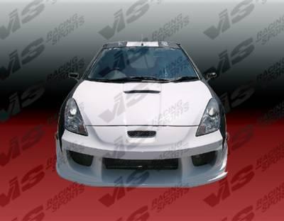 Celica - Front Bumper - VIS Racing - Toyota Celica VIS Racing Wave Front Bumper - 00TYCEL2DWAV-001