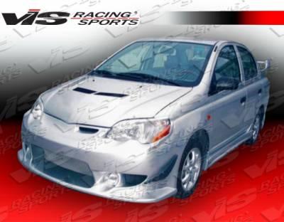 Echo - Front Bumper - VIS Racing. - Toyota Echo VIS Racing Tracer Front Bumper - 00TYECH4DTRA-001