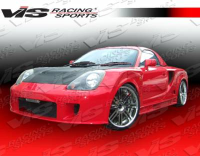 MRS - Front Bumper - VIS Racing. - Toyota MRS VIS Racing Techno R Widebody Front Bumper - 00TYMRS2DTNRWB-001