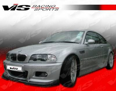 3 Series 2Dr - Front Bumper - VIS Racing - BMW 3 Series 2DR VIS Racing V-Spec Carbon Fiber Lip - 01BME46M32DVSC-011C