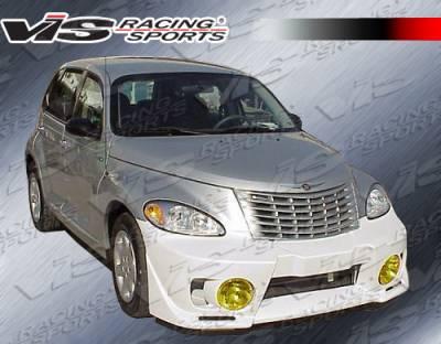 PT Cruiser - Front Bumper - VIS Racing - Chrysler PT Cruiser VIS Racing EVO-5 Front Bumper - 01CYPTC4DEVO5-001