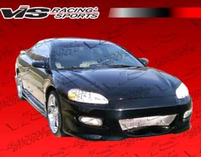 Stratus 2Dr - Front Bumper - VIS Racing - Dodge Stratus 2DR VIS Racing Invader Front Bumper - 01DGSTR2DINV-001