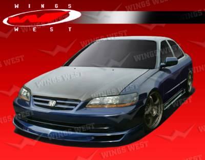Accord 4Dr - Front Bumper - VIS Racing - Honda Accord 4DR VIS Racing JPC Front Lip - Polyurethane - 01HDACC4DJPC-011P