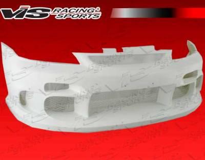 Civic 2Dr - Front Bumper - VIS Racing - Honda Civic 2DR & 4DR VIS Racing Terminator Front Bumper - 01HDCVC2DTM-001