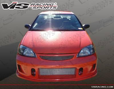 Civic 2Dr - Front Bumper - VIS Racing - Honda Civic 2DR & 4DR VIS Racing TSC-2 Front Bumper - 01HDCVC2DTSC2-001