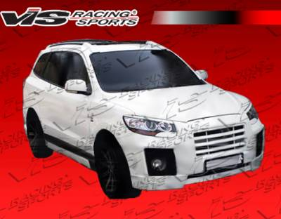Santa Fe - Front Bumper - VIS Racing - Hyundai Santa Fe VIS Racing Top Mate Front Bumper - 01HYSAN4DTOP-001