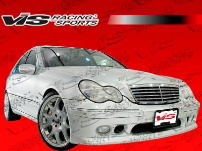 C Class - Front Bumper - VIS Racing - Mercedes-Benz C Class VIS Racing B-Spec Front Bumper - 01MEW2034DBSC-001