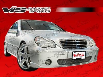 C Class - Front Bumper - VIS Racing - Mercedes-Benz C Class VIS Racing C-Tech Front Bumper - 01MEW2034DCTH-001