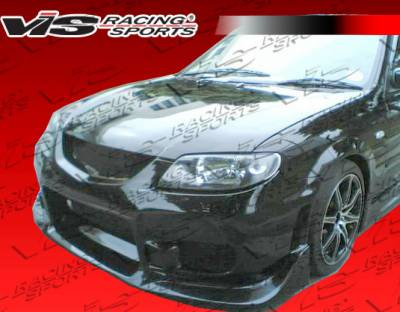 Protege - Front Bumper - VIS Racing - Mazda Protege VIS Racing Tracer Front Bumper - 01MZ3234DTRA-001