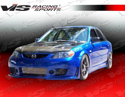 Protege - Front Bumper - VIS Racing - Mazda Protege VIS Racing TSC-3 Front Bumper - 01MZ3234DTSC3-001