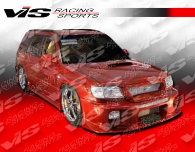 Forester - Front Bumper - VIS Racing - Subaru Forester VIS Racing Tracer Front Bumper - 01SBFOR4DTRA-001