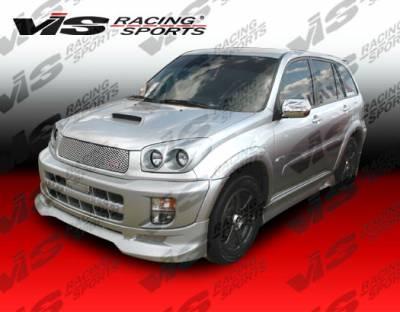 Rav 4 - Front Bumper - VIS Racing - Toyota Rav 4 VIS Racing Techno R Front Lip - 01TYRAV4DTNR-011