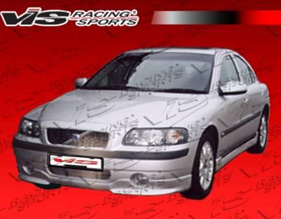 S60 - Front Bumper - VIS Racing - Volvo S60 VIS Racing Euro Tech Front Lip - 01VVS604DET-011