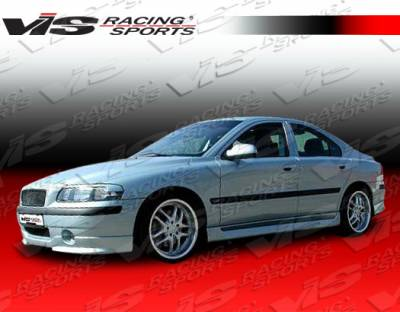 S60 - Front Bumper - VIS Racing - Volvo S60 VIS Racing Spike Front Lip - 01VVS604DSPK-011
