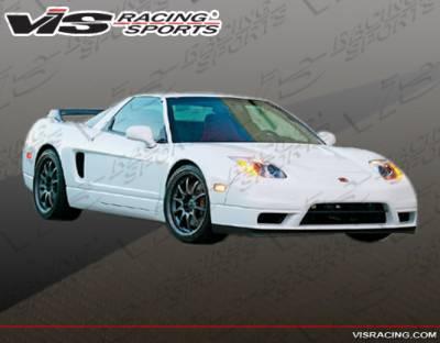 NSX - Front Bumper - VIS Racing - Acura NSX VIS Racing NSX R Front Bumper - 02ACNSX2DNSXR-001