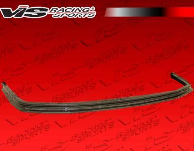 NSX - Front Bumper - VIS Racing - Acura NSX VIS Racing Techno-R Carbon Fiber Front Lip - 02ACNSX2DTNR-011C