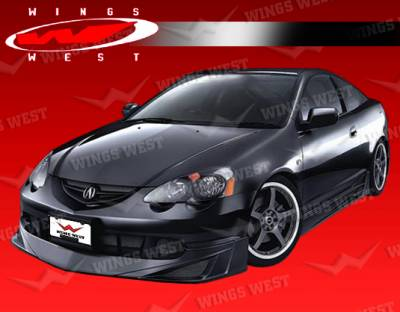 RSX - Front Bumper - VIS Racing - Acura RSX VIS Racing JPC Front Lip - 02ACRSX2DJPC-011P