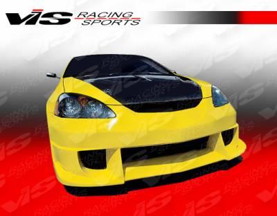 RSX - Front Bumper - VIS Racing - Acura RSX VIS Racing JS Front Bumper - 02ACRSX2DJS-001