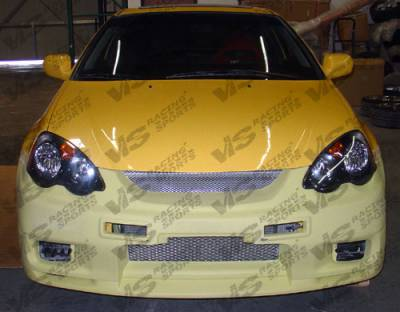 RSX - Front Bumper - VIS Racing - Acura RSX VIS Racing Omega Front Bumper - 02ACRSX2DOMA-001