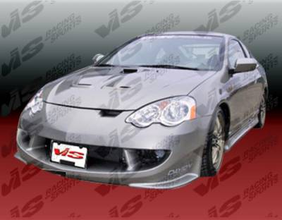 RSX - Front Bumper - VIS Racing - Acura RSX VIS Racing Techno R Front Bumper - 02ACRSX2DTNR-001
