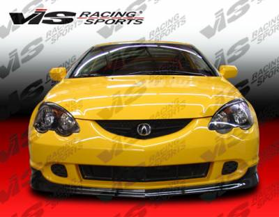 RSX - Front Bumper - VIS Racing - Acura RSX VIS Racing Type-R Silver Carbon Fiber Lip - 02ACRSX2DTYR-011S