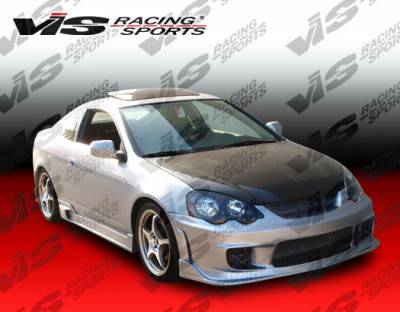 RSX - Front Bumper - VIS Racing - Acura RSX VIS Racing Wings Front Bumper - 02ACRSX2DWIN-001