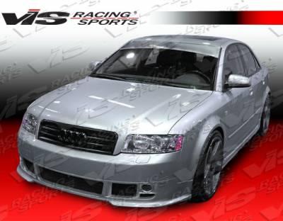 A4 - Front Bumper - VIS Racing - Audi A4 VIS Racing A Tech Front Lip - 02AUA44DATH-011