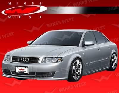 A4 - Front Bumper - VIS Racing - Audi A4 VIS Racing JPC Front Lip - 02AUA44DJPC-011P