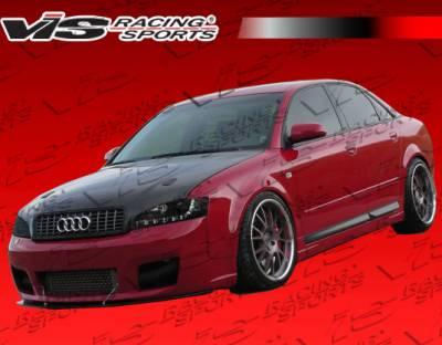 A4 - Front Bumper - VIS Racing - Audi A4 VIS Racing RS4 Front Bumper - 02AUA44DRS4-001