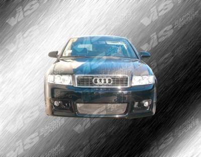 A4 - Front Bumper - VIS Racing - Audi A4 VIS Racing R Tech Front Bumper - 02AUA44DRTH-001