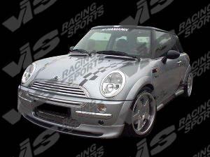 Cooper - Front Bumper - VIS Racing - Mini Cooper VIS Racing Euro Tech Front Lip - 02BMMCS2DET-011