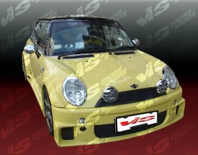 Cooper - Front Bumper - VIS Racing - Mini Cooper VIS Racing Max Front Bumper - 02BMMCS2DMAX-001