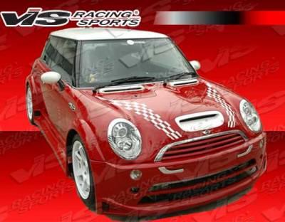 Cooper - Front Bumper - VIS Racing - Mini Cooper VIS Racing Z Max Front Bumper - 02BMMCS2DZMX-001