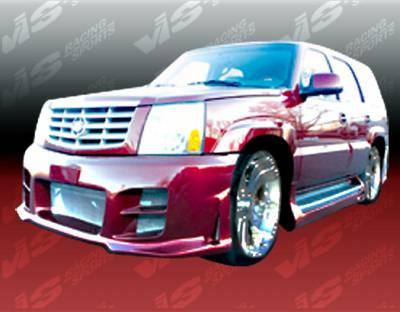 Escalade - Front Bumper - VIS Racing - Cadillac Escalade VIS Racing Outcast Front Bumper - 02CAESC4DOC-001