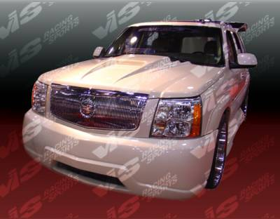 Escalade - Front Bumper - VIS Racing - Cadillac Escalade VIS Racing Outcast-2 Front Bumper - 02CAESC4DOC2-001