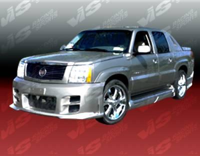 Escalade - Front Bumper - VIS Racing - Cadillac Escalade VIS Racing Outcast Front Bumper - 02CAESC4DXTOC-001