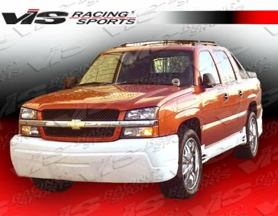 Avalanche - Front Bumper - VIS Racing - Chevrolet Avalanche VIS Racing Outcast-2 Front Bumper - 02CHAVA4DOC2-001