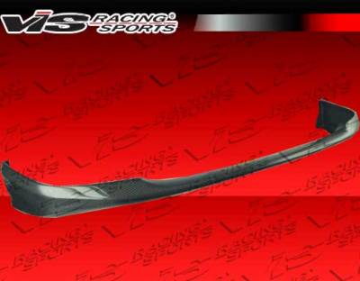 Civic HB - Front Bumper - VIS Racing - Honda Civic HB VIS Racing Type-R Carbon Fiber Lip - 02HDCVCHBTYR-011C