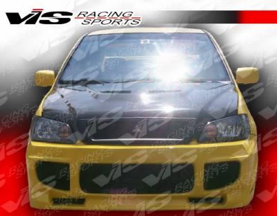 Lancer - Front Bumper - VIS Racing - Mitsubishi Lancer VIS Racing Apex Front Bumper - 02MTLAN4DAPX-001