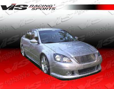 Altima - Front Bumper - VIS Racing - Nissan Altima VIS Racing Magnum Front Bumper - Urethane - 02NSALT4DMAG-001