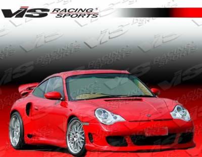 911 - Front Bumper - VIS Racing - Porsche 911 VIS Racing G Tech Front Bumper - 02PS9962DGTH-001