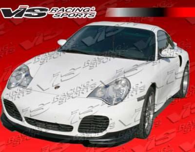 911 - Front Bumper - VIS Racing - Porsche 911 VIS Racing A-Tech Carbon Fiber Front Lip - 02PS996T2DATH-011C