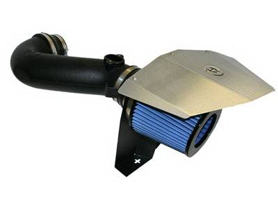 Air Intakes - Oem Air Intakes - aFe - BMW 5 Series aFe MagnumForce Pro-5R Stage 2 Air Intake System - 54-11142