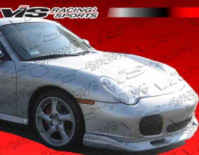 911 - Front Bumper - VIS Racing - Porsche 911 VIS Racing Wolf Front Lip - 02PS996T2DWOL-011
