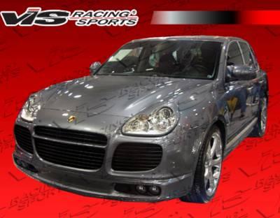 Cayenne - Front Bumper - VIS Racing - Porsche Cayenne VIS Racing A Tech Front Lip - 02PSCAY4DATH-011