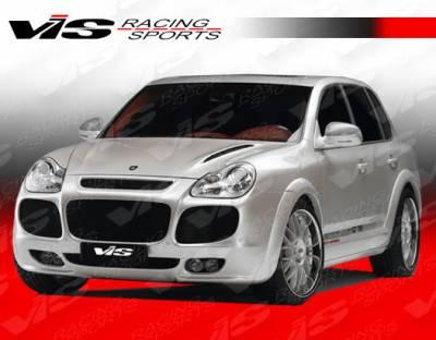 Cayenne - Front Bumper - VIS Racing - Porsche Cayenne VIS Racing G Tech Front Lip - 02PSCAY4DGTH-011