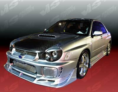 WRX - Front Bumper - VIS Racing - Subaru WRX VIS Racing Tracer Carbon Fiber Lip - 02SBWRX4DTRA-011C