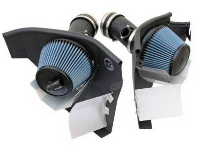 Air Intakes - Oem Air Intakes - aFe - BMW 5 Series aFe MagnumForce Pro-5R Stage 2 Air Intake System - 54-11272