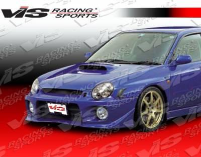 WRX - Front Bumper - VIS Racing - Subaru WRX VIS Racing Z Sport Front Bumper - 02SBWRX4DZST-001